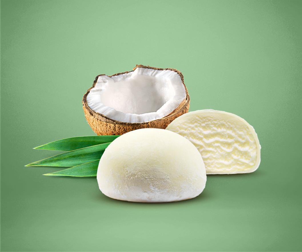 Coconut Mochi Ice Cream