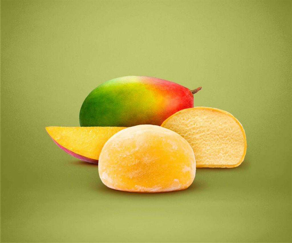 Mango Mochi Sorbet