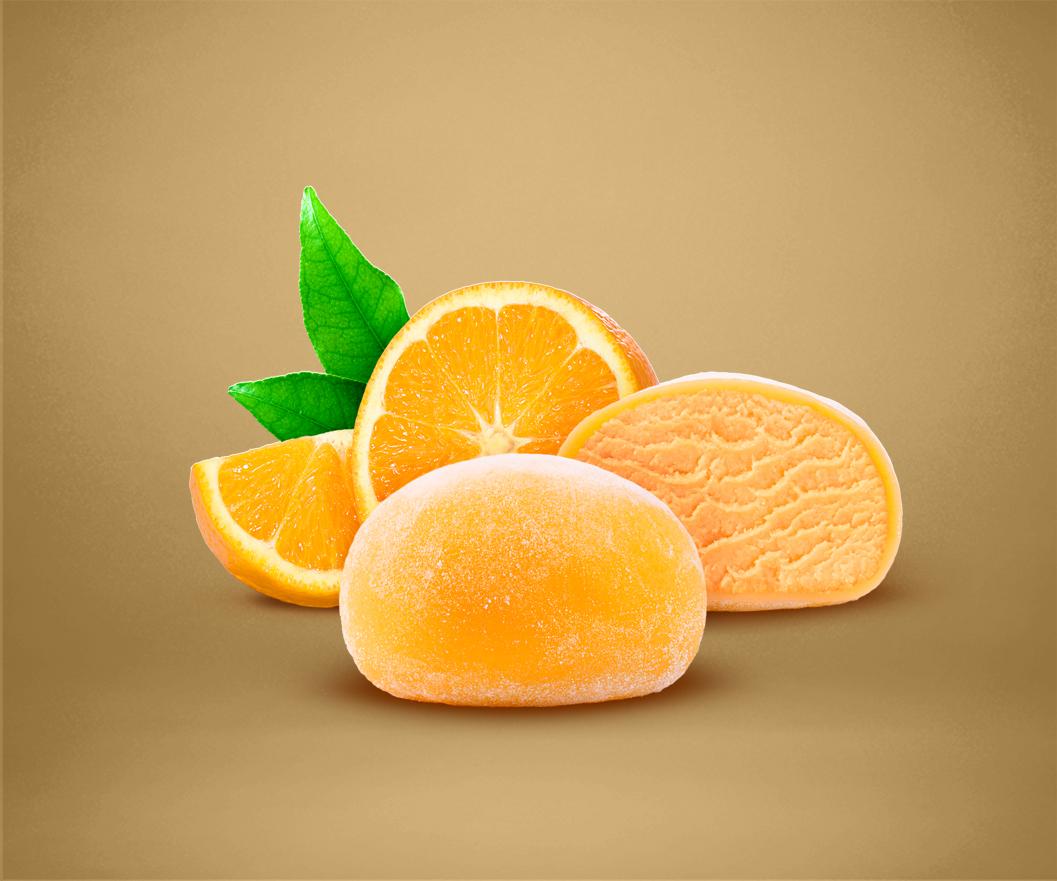 Orange Mochi Sorbet