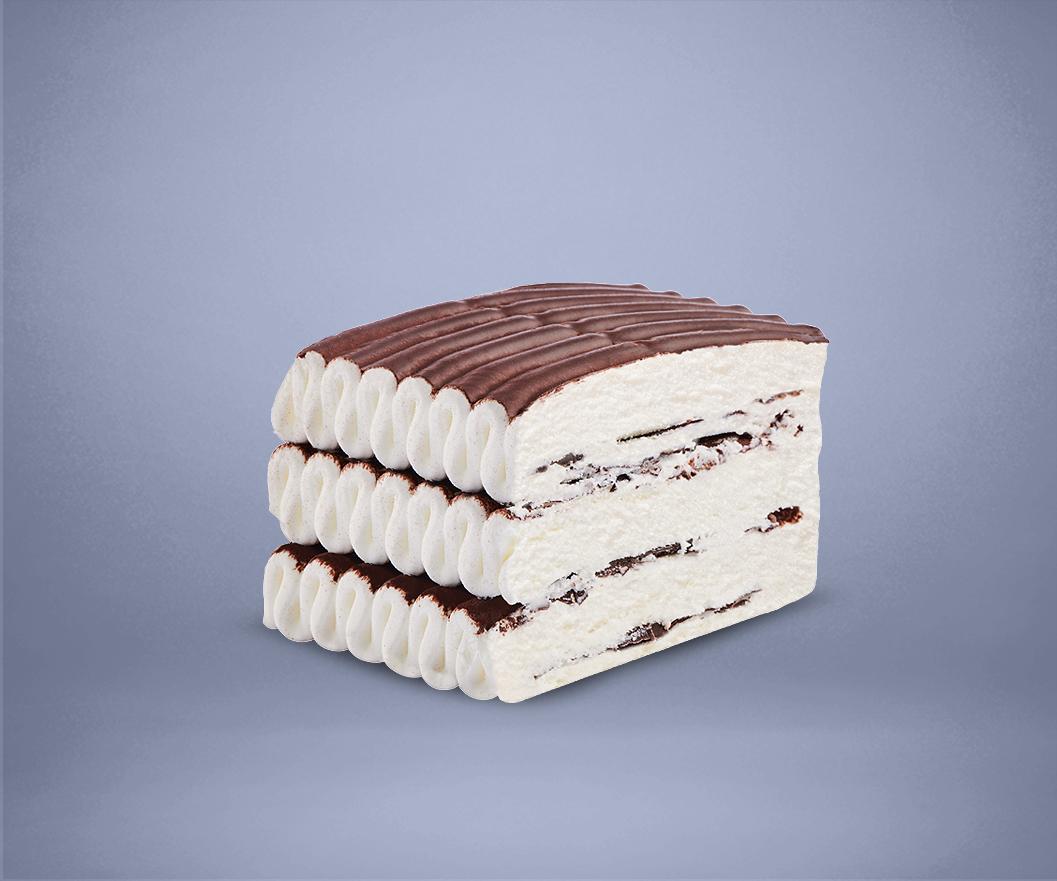 Frozen Chocolate Cream Cake