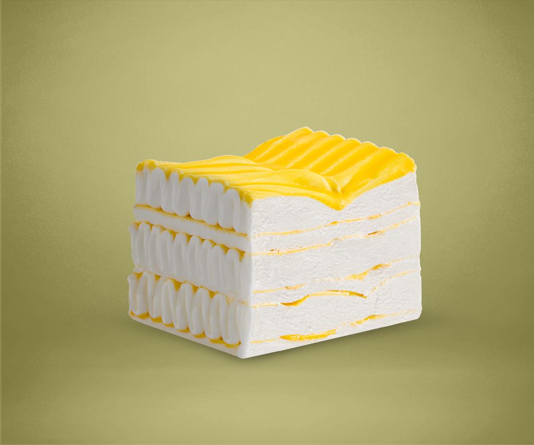 Frozen Lemon Cake